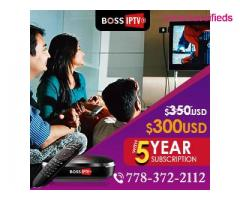 Boss IPTV Under $5/Month, Over 600 Desi Channels