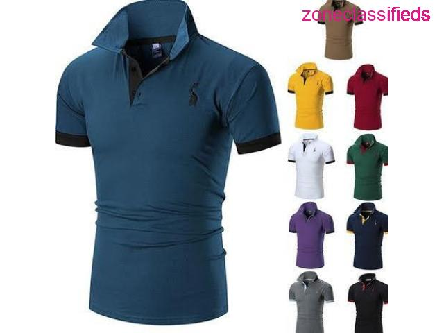 Men Breathable spot polo - 1/2