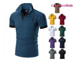 Men Breathable spot polo