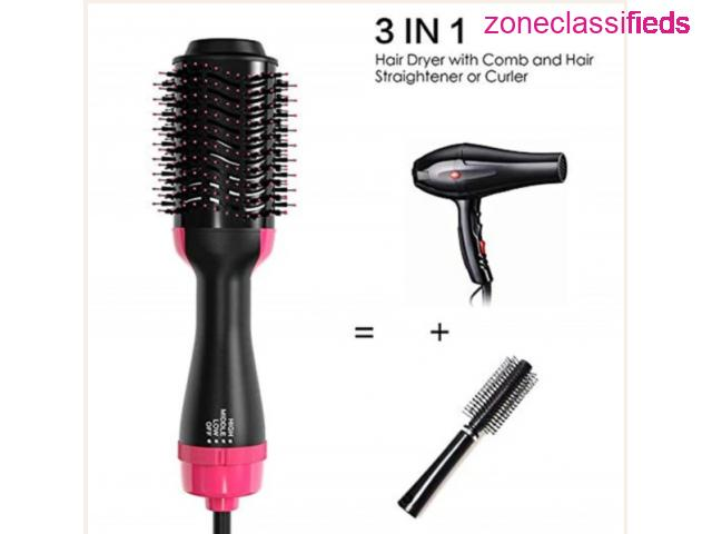 HAIR DRYERS AND VOLUMIZER BLOWER PROFESSIONAL 2-IN-1 HAIR - 2/8