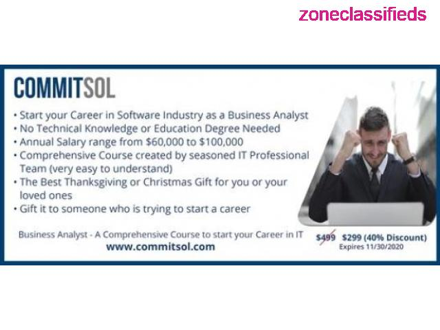 CommitSol - Business Analyst Training - 1/4