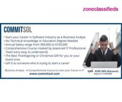 CommitSol - Business Analyst Training - Image 1/4
