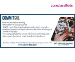 CommitSol - Business Analyst Training