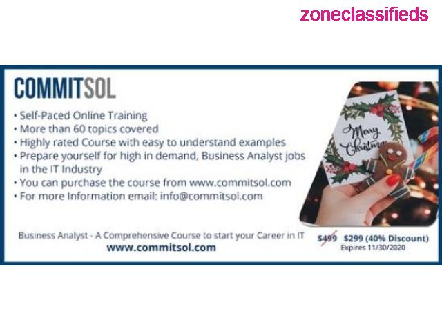 CommitSol - Business Analyst Training - 4/4