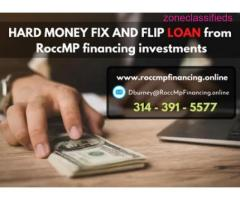 HARD MONEY FIX AND FLIP LOAN