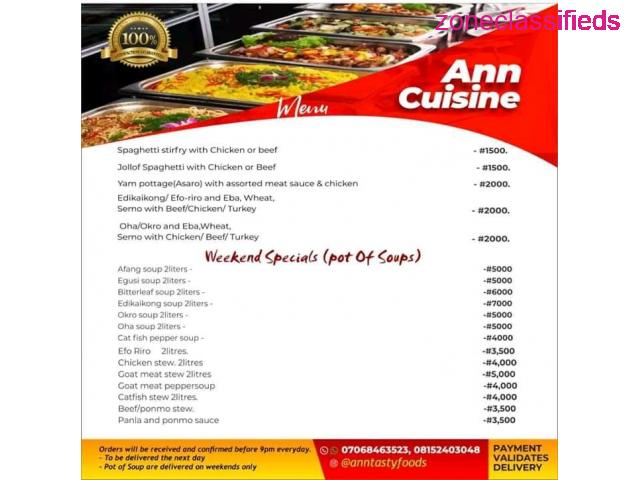 Ann cuisine catering services - 3/10