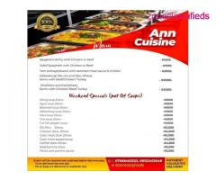 Ann cuisine catering services