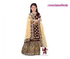 Kid lehenga choli for girls