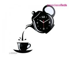 Trendy Acrylic Wall Clock (Free shipping and COD)