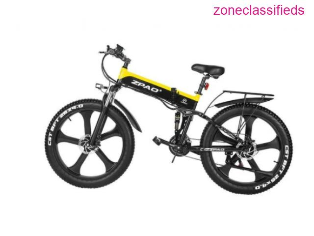 Fat Tire Mountain Electrical Bicycles - 3/3