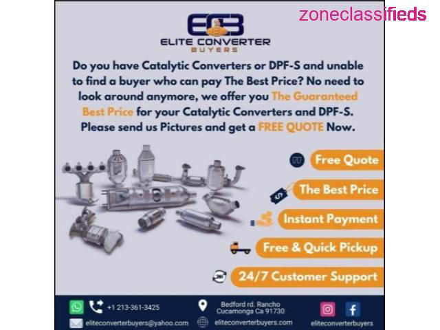 Your Catalytic Converters & DPF-S Deserve The Best Price - 1/1