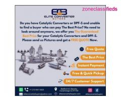 Your Catalytic Converters & DPF-S Deserve The Best Price