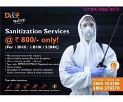 Home sanitization at Rs 800/- (1bhk/2bhk/3bhk)