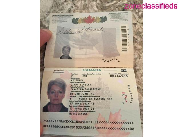 Canadian Passport and Driver's License - 2/8