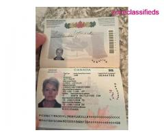 Canadian Passport and Driver's License