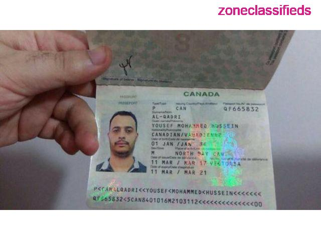 Canadian Passport and Driver's License - 3/8