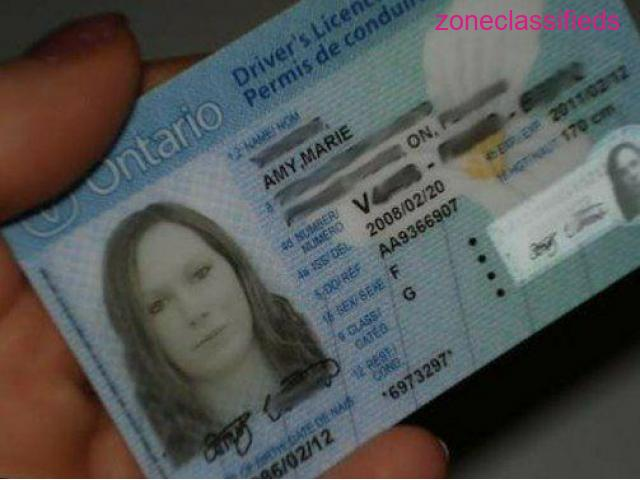Canadian Passport and Driver's License - 8/8