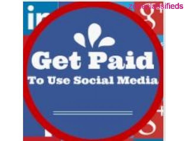 **Get paid to use FACEBOOK, TWITTER and YOUTUBE** - 1/7
