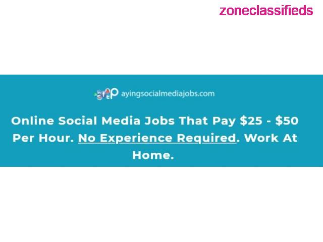 **Get paid to use FACEBOOK, TWITTER and YOUTUBE** - 2/7