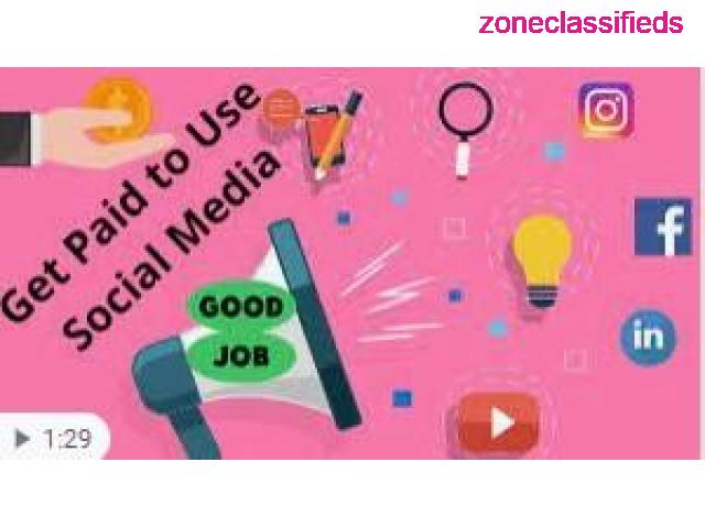 **Get paid to use FACEBOOK, TWITTER and YOUTUBE** - 6/7