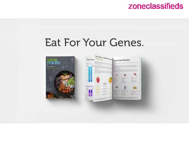 OPTIMIZE YOUR HEALTH WITH A DNA NUTRITION TEST - 2/5