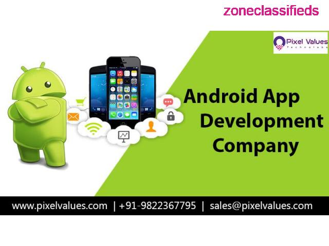 Trusted Mobile App Development Company in India-Pixel Values Technolabs - 1/2