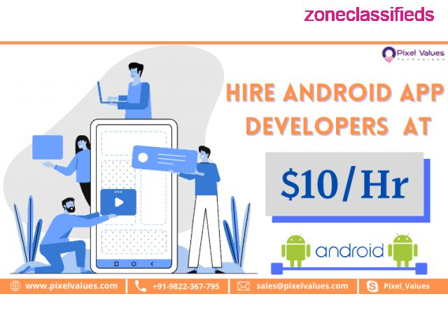 Trusted Mobile App Development Company in India-Pixel Values Technolabs - 2/2