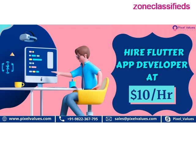 Searching For A Reliable Flutter App Development Company? Visit Pixel Values Technolabs - 2/2